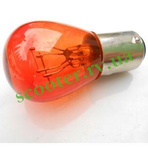 Лампа стопа (красная) 12v 21/5w цоколь, двухконтактная (S25)
