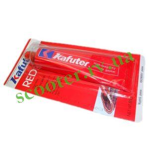 Герметик KAFUTER 85г (прокладочный красный)