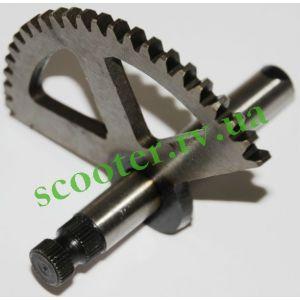 AD-50/100 SEPIA Полумесяц кикстартера (прямые шлицы) Steel Mark