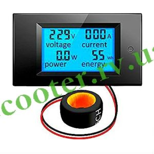 Ваттметер Амперметр AC 100-300V 50A MLTX