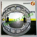 "4T GY6 50/150 (10-12"" колесо) Колодки барабанного тормоза ""NAMASTE"""