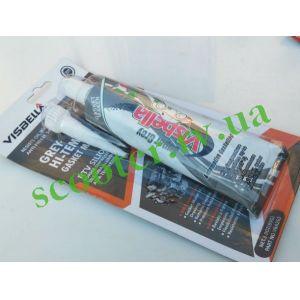 Герметик силиконовый VISBELLA 85г (прокладочный серый)