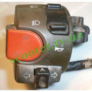 Пульт левый (кнопки руля) Yamaha AEROX б/у Italy