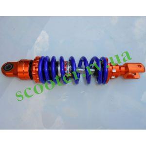 """270mm Амортизатор """"NDT"""" (масляный, усиленный) Оранж.-синий"""