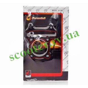 139QMB (4Т GY6 80cc 47mm) Прокладки ЦПГ 5шт + сальники F6