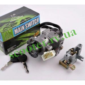 "Yamaha BW`S 100 4VP Замок зажигания (комплект) ""EURORUN"""