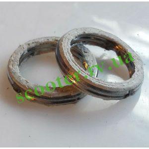 Кольцо глушителя 32/24mm Алюминий + асбест