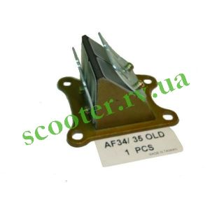 ZX AF-34/35 (GBL) Лепестковый клапан (4 болта) Steel Mark