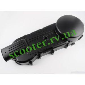 GY6-150 Крышка вариатора (ножка по центру) Черная