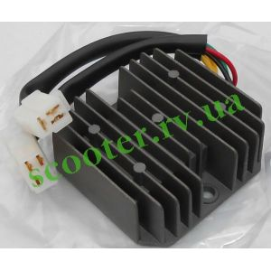 4T GY6-125/150 Реле зарядки (6 проводов 3+3) KMC