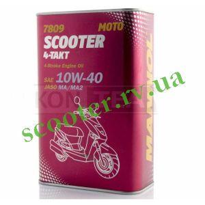 4T MANNOL SCOOTER 10W40 Масло синтетическое 1L