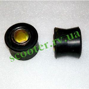 D-10mm Верхний сайлентблок амортизатора, черный KTO
