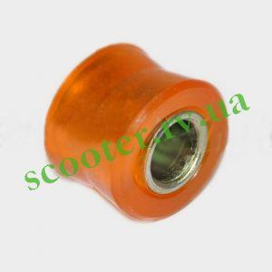 D-10mm Верхний сайлентблок амортизатора (силиконовый, оранжевый) KTO