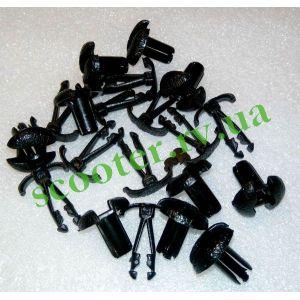 Клипсы крепления пластика (нажимные) KMC 10шт