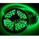 Диодная подсветка 450мм (60 диодов / 1 метр) Зеленая герметичная (SMD 3528)