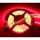 Диодная подсветка 450мм (60 диодов / 1 метр) Красная герметичная (SMD 3528)