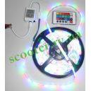 Диодная подсветка (5 метров) RGB герметичная + контроллер + пульт
