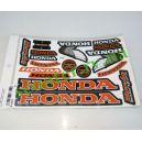 Наклейки набор HONDA (16см * 17см) 14шт 7067