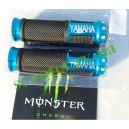 Ручки руля, алюминий с отбойником (синие Yamaha)
