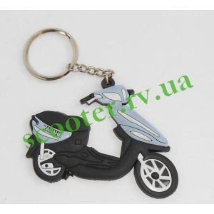 YAMAHA Брелок силиконовый скутер
