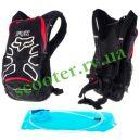 Мото - Вело рюкзак (поилка, термобарьер) FOX (red-wait)