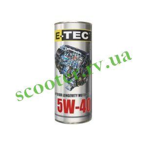 4Т E-TEC 5W40 Масло синтетическое 1L