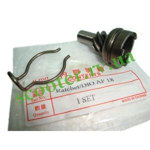 DIO-18 TACT LEAD (тонкий вал) Храповик кикстартера Steel Mark