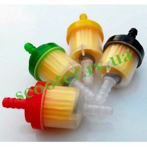 Фильтр топливный (бумажная гофра + магнит) Цветные