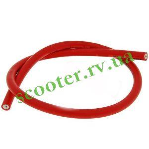 Высоковольтный провод катушки зажигания (1м, красный)