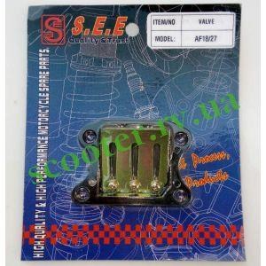 DIO-18/27 TACT-24/30 LEAD-50/90 Лепестковый клапан SEE Taiwan