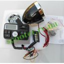 Аудиосистема 3в1 МР3-плеер, FM-радио, Сигнализация (SD, USB, ПДУ) ЖК дисплей