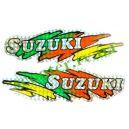 SUZUKI Наклейка голограма (20х5см) 2шт