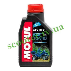 4T MOTUL ATV-UTV 10W40 Масло минеральное 1L