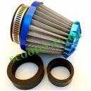 Фильтр нулевого сопротивления (переходники 28/35/42mm, синий) RACING