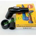 Насвечник (5кОм) текстолитовый + резинки NGK-45 Japan