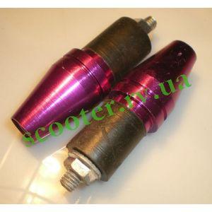 """Отбойники руля """"H&Q"""" (mod: 013C) Фиолетовый металик"""