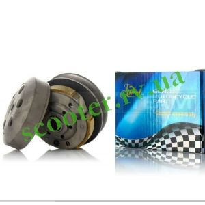 139QMB DIO ZX TACT LEAD Вариатор задний в сборе (Шкивы 119mm) KMC