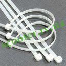 Стяжки нейлоновые (хомуты белые) 3*200mm 100шт
