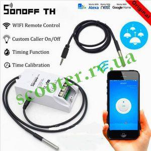 Sonoff TH10 WIFI включатель / выключатель с обратной связью Smart House