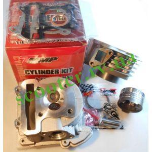GY6 100сс 139QMB 50mm ЦПГ в сборе + головка (увеличенные клапана) LIPAI-TFL
