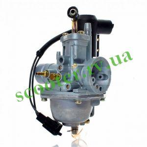 2T STELS 1E40QMB, JOG-50/90 3KJ 3WF Карбюратор (диффузор 18mm) в сборе KMC