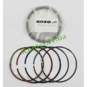 "GY6 100cc 139QMB (Ø50.50мм +0,50) Кольца 4T ""KOSO"""