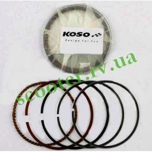 150cc 157QMJ (58,00мм +0,50) Кольца 4Т KOSO