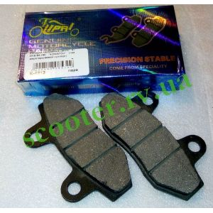 LEAD, GY6 125/150 Колодки дисковый тормоз DKY