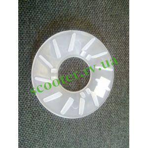 139QMB (GY6 50/80/100) Крыльчатка щеки вариатора (пластмассовая)