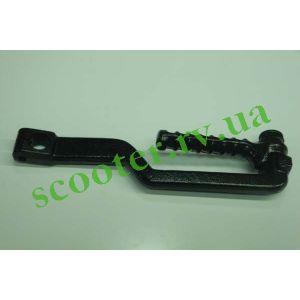 139QMB (GY6 50/80/100) Ножка кикстартера (круглая) KRG