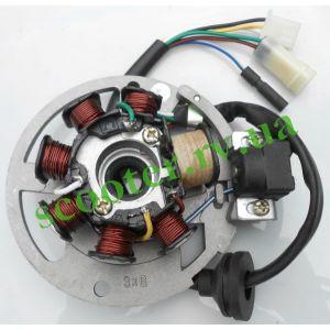 JOG-3KJ AXIS Minarelli Генератор (статор 6 проводов) MNL