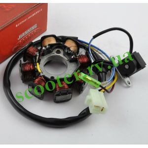 139QMB 4T Генератор (6+2 катушек 4 провода) KMC