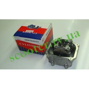 """152QMI 125cc 52mm Головка цилиндра (в сборе) """"ZQ"""""""